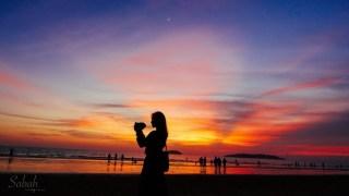 馬來西亞沙巴 世界三大最美夕陽之一:丹絨亞路海灘的夢幻時刻