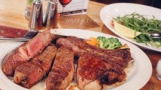 台北內湖美福西餐廳。生日約會就是要吃乾式熟成牛排才浪漫♥