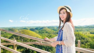 菲律賓薄荷島|史上最小迷你眼鏡猴/世界奇景巧克力山/在漂流竹筏上吃午餐