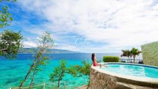 菲律賓宿霧|在一島一飯店能做的5件事情!Sumilon Bluewater迷人漸層藍海水美呆了