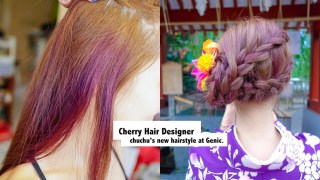 染髮常見Q&A一次解答!如何免漂色染出若隱若現迷人玫瑰紫–Genic Salon
