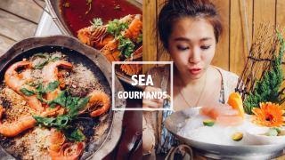 宜蘭頭城海饕無菜單創意料理。看海景大吃生猛海鮮