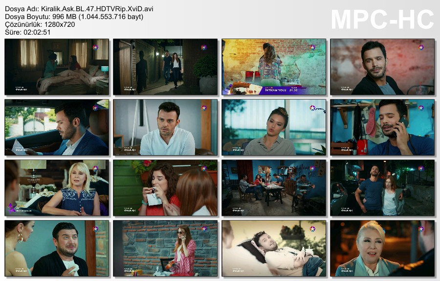 Kiralık Aşk 47.Bölüm HDTVRip XviD - Tek Link
