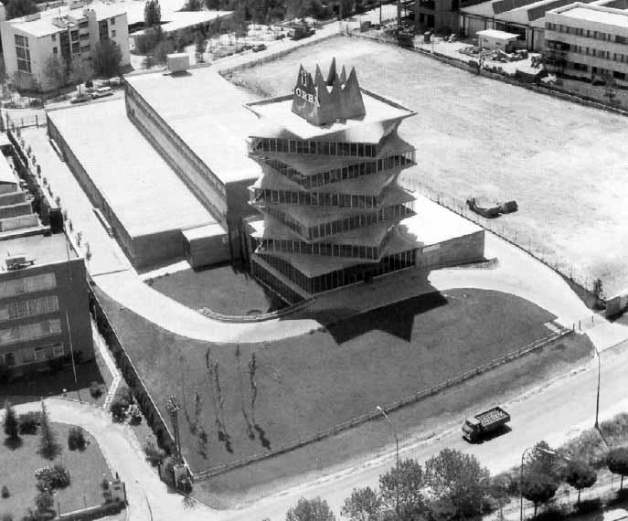 Madrid Antiguo Edificio Pagoda Curiosos Incompletos