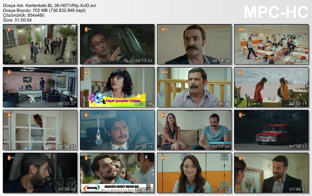 Kertenkele 38.Bölüm HDTVRip XviD - Tek Link