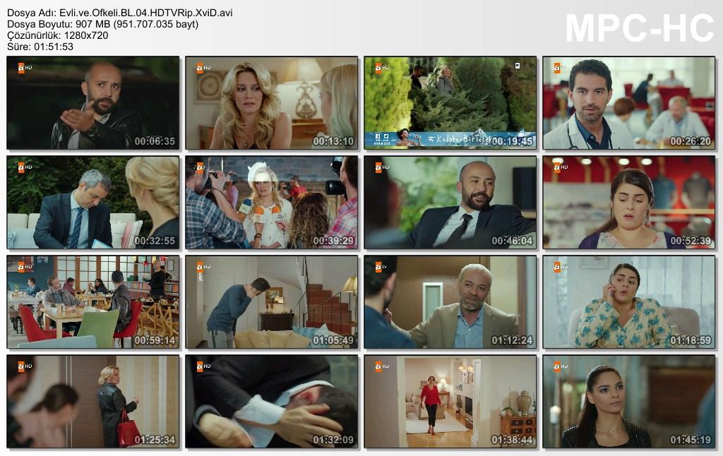 Evli ve Öfkeli 4.Bölüm HDTVRip XviD - Tek Link