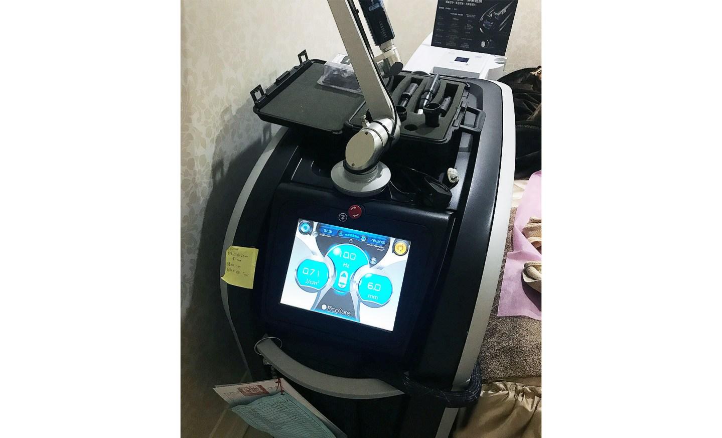 醫美 聖緹雅醫美PicoSure755蜂巢皮秒雷射心得分享,超越淨膚雷射號稱雷射界的法拉利