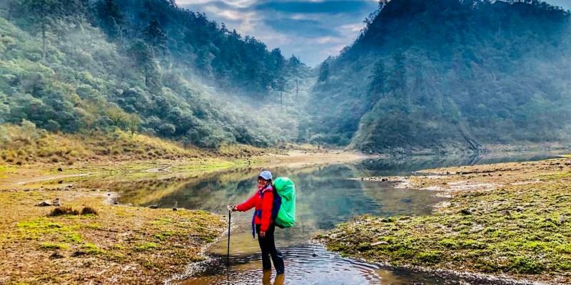 松蘿湖—17歲少女之湖兩天一夜露營,絕美必訪高山湖泊,糜爛山頂海陸大餐奢華全記錄