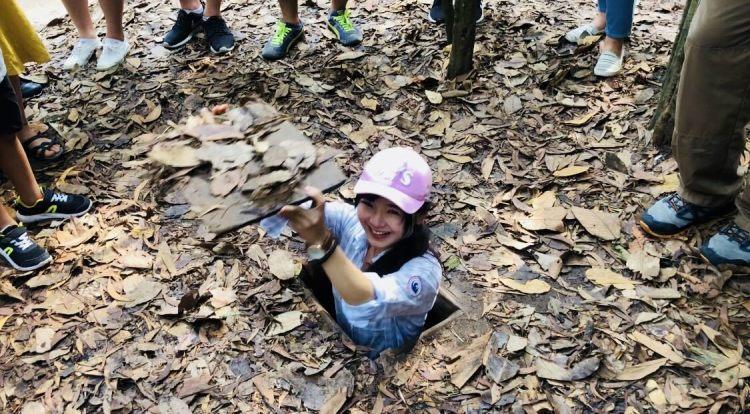 越南胡志明市自由行—古芝地道local tour半日遊,越戰超迷你地道體驗,內含報名資訊及貼心小叮嚀