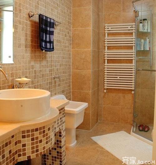 廁所瓷磚什麼顏色好 3大風格廁所瓷磚顏色搭配方案賞析 - 愛我窩