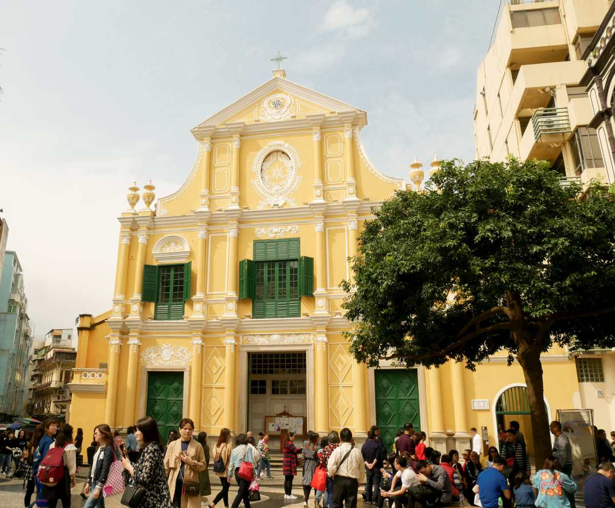 玫瑰聖母堂 San Domingo's Church