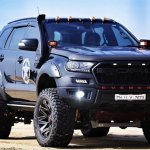 Check Out This Modified Ford Endeavour With 20 Inch Wheels And Off Road Bodykit