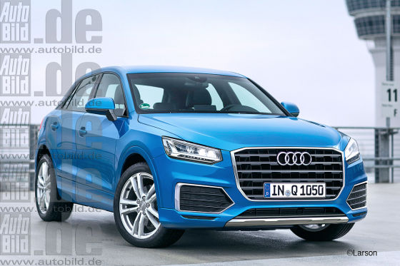 2016 Audi Q1 Compact Suv Renderings