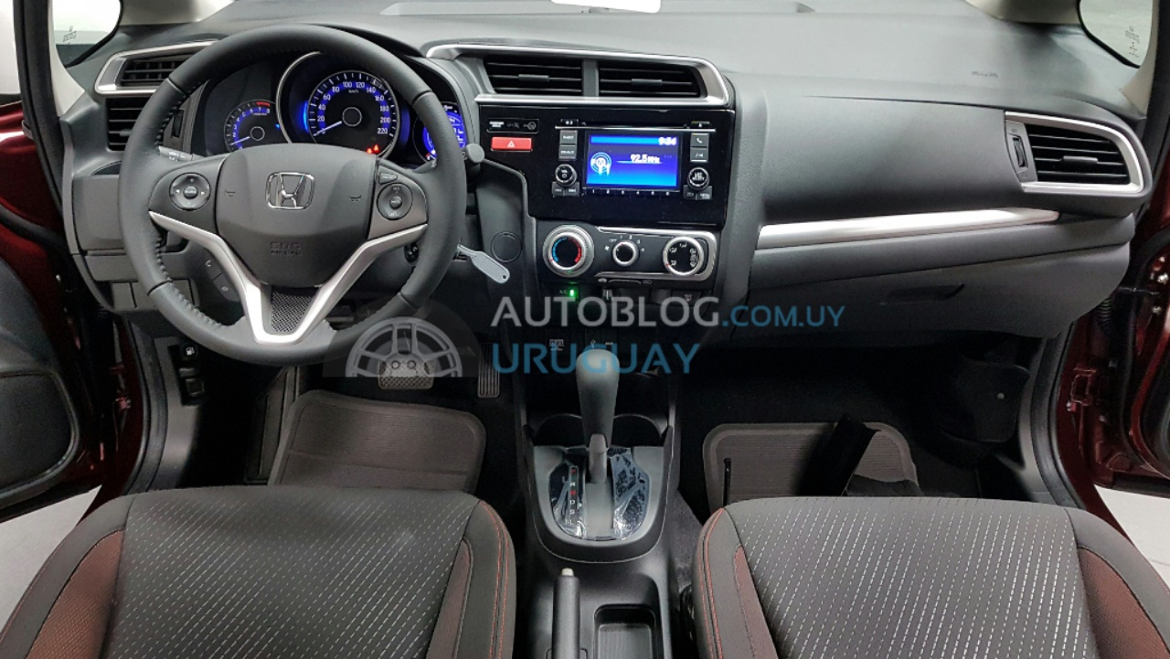 Interior Of The Honda WR V Photographed In South America