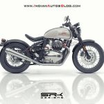 Royal Enfield Bobber 650 Imagined Iab Rendering