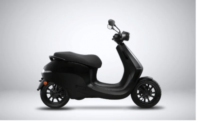 Ola electric scooter right
