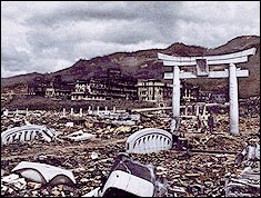 Nagasaki after the atomic bomb - Infoplease.com