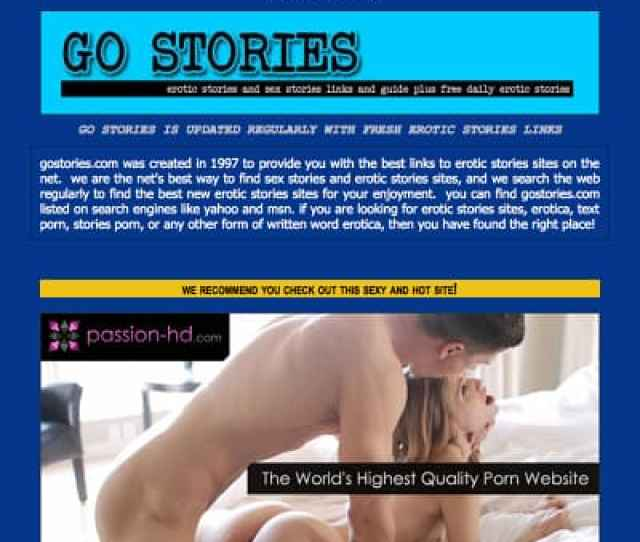 The Best Erotic Sex Story Sites