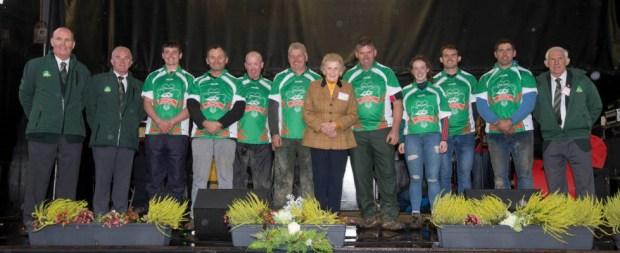 """Irlanda / Anna May McHugh, presidenta de la NPA y conocida como """"La reina del arado"""", es toda una institución en el país."""