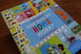 STEAM書單:How Does My Home Work? 我家有個小小科學家