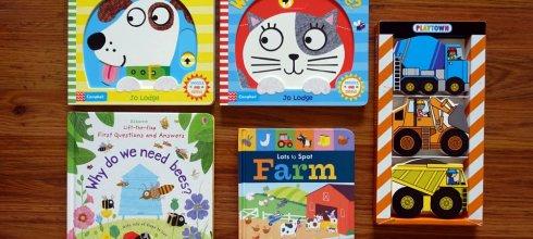 適合1-4歲以上硬頁書|動物變臉操作書、幼兒科學書單、大翻頁找找書、工程車隨身書