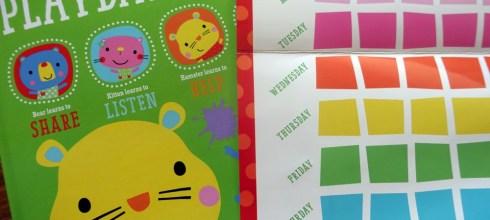 [親子共讀]教育性高的常規貼紙獎勵書盒|Playdate Pals Behaviors Collection