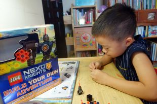1年心得分享:小小孩的STEM樂高積木書 LEGO NEXO KNIGHTS Build Your Own Adventure