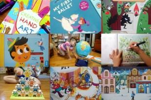 10月書單:音樂音效書,硬頁書,美術書, 貼紙書,遊戲書盒 英國Little Brian無毒可洗兒童水彩棒