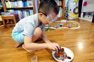 我家有個科學家|英國Science4you STEM科學實驗玩具|恐龍火山篇