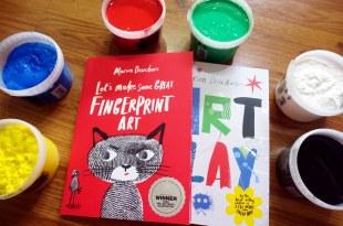 錯過會扼腕,大藝術家美術畫冊|Let's Make Some Great Fingerprint Art及Art Play