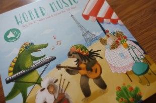 50個翻翻機關|World Music世界音樂音效書|東西方音樂大融合