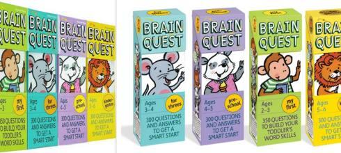 NO.10書單:硬頁書,Brain Quest大腦益智書單,貼紙書,橋樑書,有聲CD書,繪本,迪士尼漫威