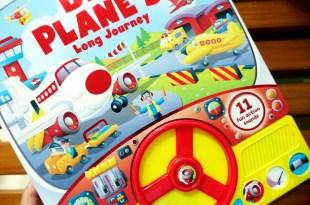 精彩音效書大集合 飛機駕駛玩具書Big Plane's Long Journey 還有My First Drum Set