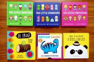 會想一直聽下去的親子共讀書單 Ten Little系列:驚險又刺激的數字冒險故事
