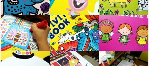 8月書單:硬頁書,美術畫冊,小動腦IQ自然百科遊戲盒,The Giggly Guide育童聖經,找找書