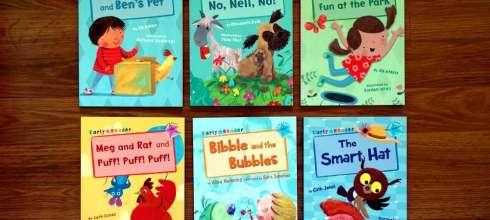 NO. 7 書單:英國小孩分級讀本Maverick Early Reader,童書