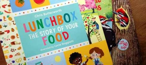 我家小吃貨的共讀書單  Lunchbox the story of you food 午餐盒裡的秘密