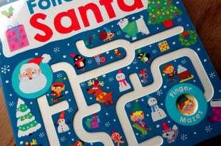2-4歲的組織計劃力遊戲|Follow Me Santa|多備幾本都不嫌多的迷宮書大集合