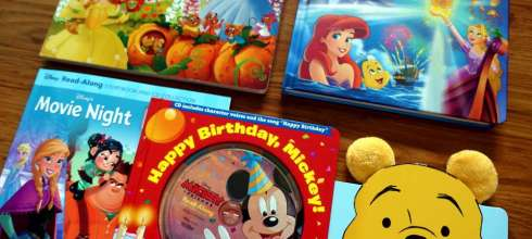 迪士尼的親子共讀書單 公主大集合、經典有聲CD書、大尺寸翻翻書、小熊維尼感謝書