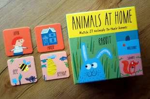 2歲以上適合|同時有3種玩法:兼具創意與實用的Animals at Home遊戲盒