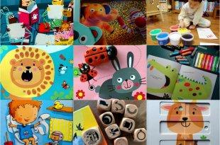 1月書單:月光手電筒書,點讀音效書,智能玩具書,故事骰,水彩棒,手指顏料,畫冊,硬頁書