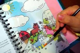 小孩好愛的神奇水畫著色冊3.0版 Magic Water Colouring:水畫。著色。塗鴨三合1