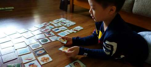 適合2-3歲以上的西班牙akros邏輯遊戲卡|引導專注力,推理力,數學力|