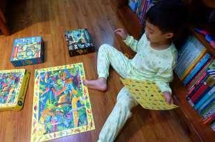 孩子的空間邏輯|美國Mudpuppy|進階選擇:夜光拼圖、找找看與角色造型拼圖、藝術拼圖