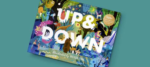 二個世界,完全點燃孩子好奇心的找找書|Up & Down|還有Rainforest: Day & Night夜光書
