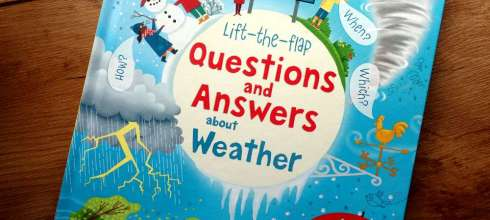 為什麼小人必讀科普|Lift-the-flap questions and answers about weather|天氣百科翻翻書