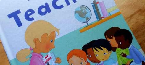 以《忙碌老師》向老師們致敬|Busy People: Teacher|大大推薦與孩子共讀