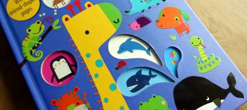 超可愛My Awesome Animal Book|Fishy, Fishy動畫書與蜜蜂ABC運筆書|純淨音樂音效書