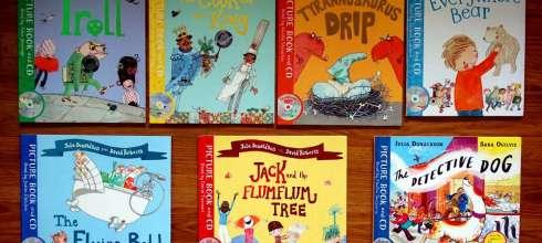 同大爺的有聲CD故事書們|The Flying Bath飛天浴缸出動|最會說故事的Julia Donaldson