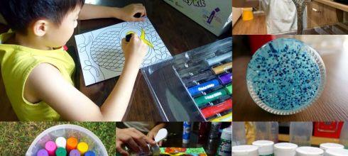小孩美術用品:全球專利!英國Brian Clegg生態環保亮片 不造成海洋負擔, 還有水彩棒禮物桶